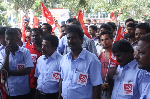 Sholinganallur Sep 2nd Protest