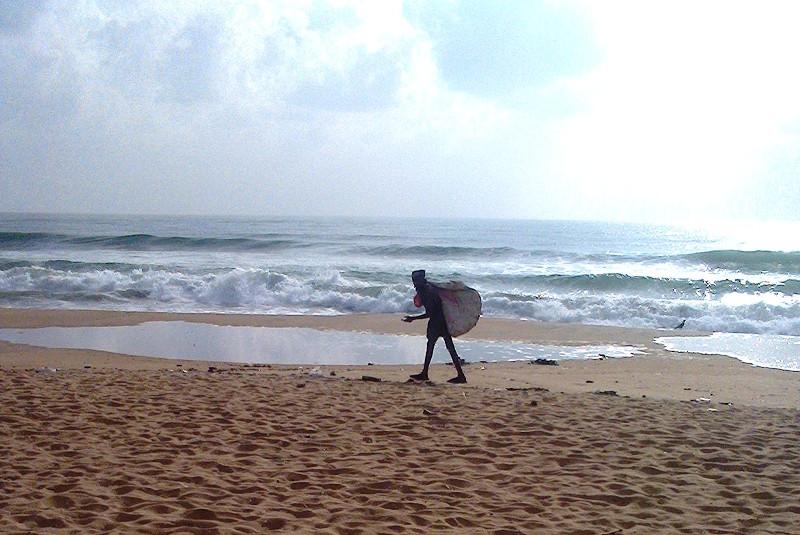 Rag Picker On the Beach