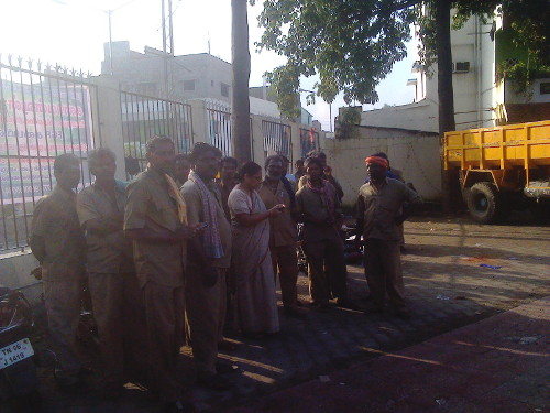 Sanitation Workers in Kodambakkam