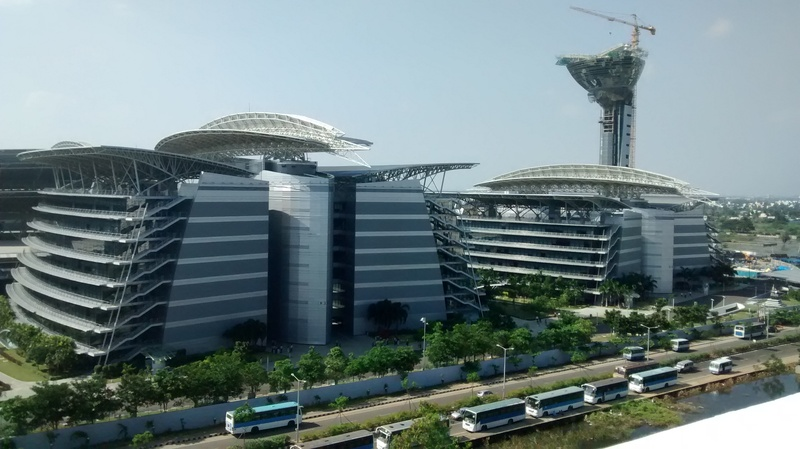 The TCS building (Photocredit: Suryajit Chillara)
