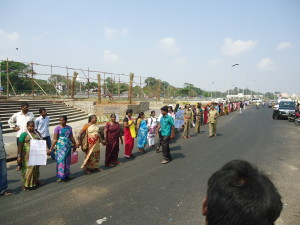Human chain 2