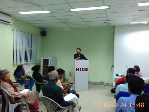Marcello Musto at MIDS, Chennai