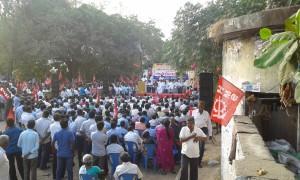 March 10 All India protest  - Chepauk, Chennai