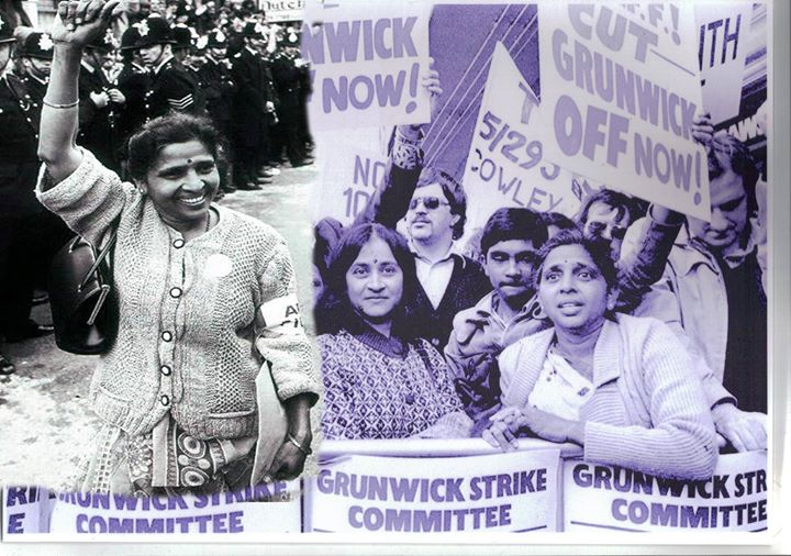 Women lead the Workers Strike at Grunwick