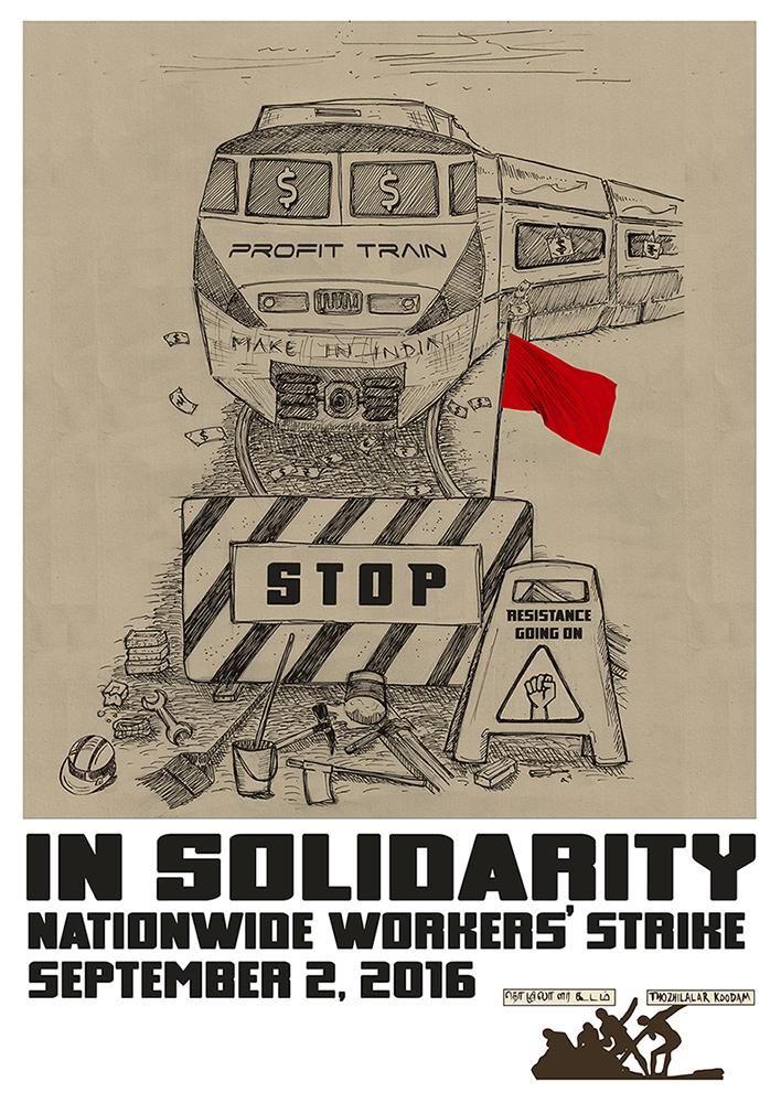 September 2nd National Strike Poster