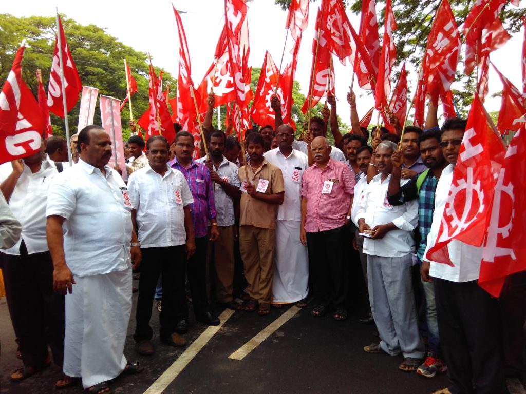 Transport Workers on Anna Salai