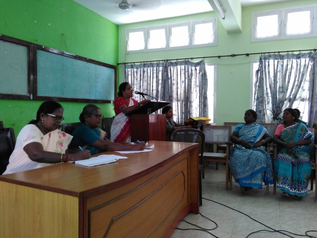 Com. Sumathi at the workshop
